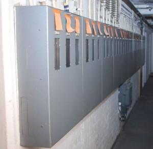 Viele Stromzähler